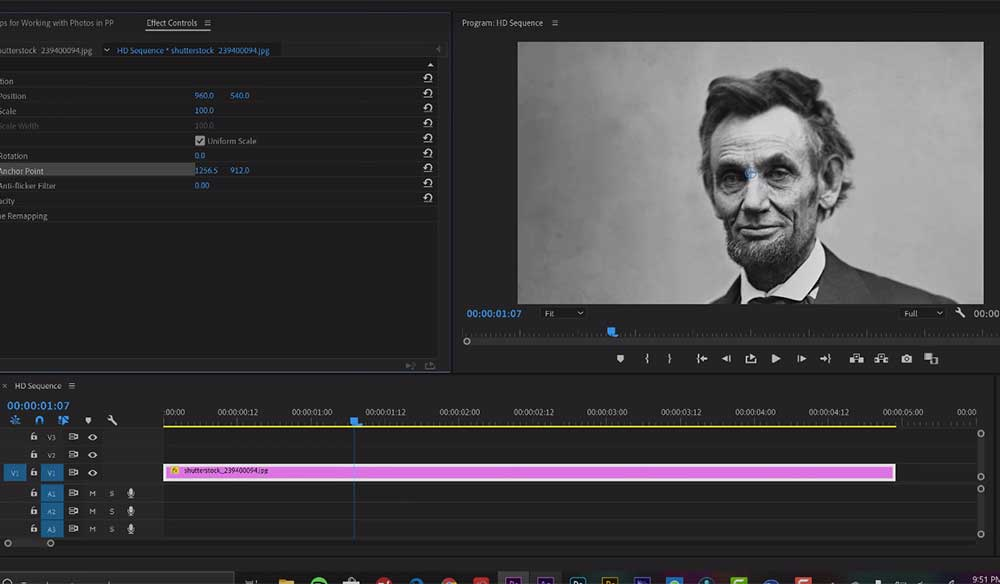 Tips for Working with Photos in Adobe Premiere Pro