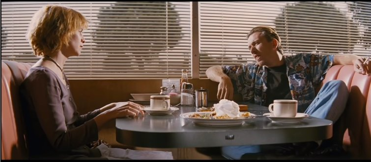 "Amanda Plummer and Tim Roth in ""Pulp Fiction"""