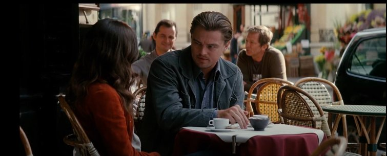 "Leonardo DiCaprio and Ellen Page in ""Inception"""