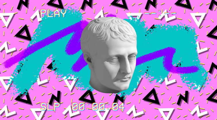 The Visual Styles of the Synthwave and Vaporwave Video — Free Retro Pack