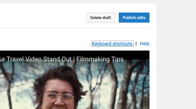 How to Add Subtitles to YouTube Videos — Publish Edits