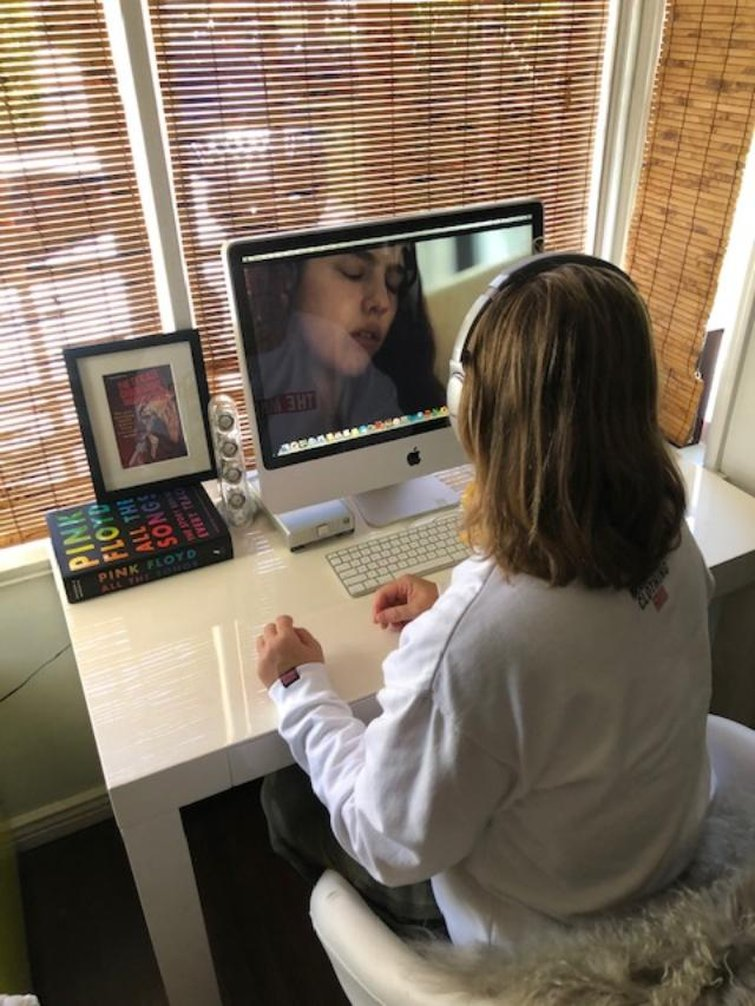 How Creatives Use Video Collaboration Apps During Lockdown — Christina Price Using ProMax System