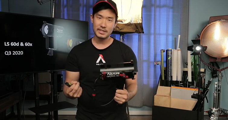 Aputure Announces the New Light Storm 60D and 60X — Ted Sim with the Light Storm 60d