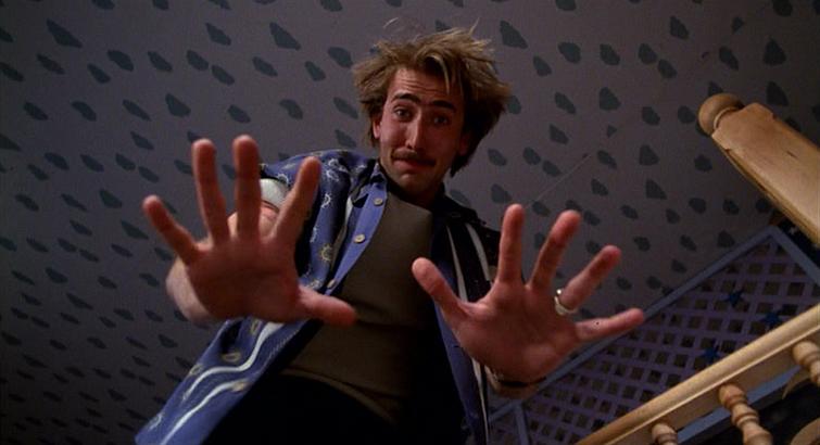 """Nicolas Cage in """"Raising Arizona"""""""