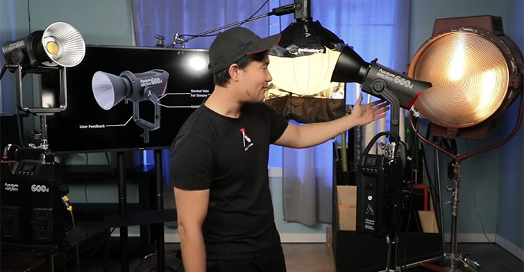 Aputure Announces Two New Light Fixtures: The 600d and NOVA 300C — Ted Sim