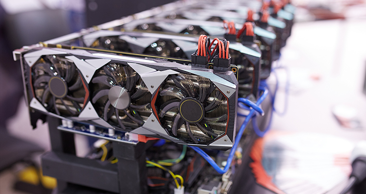 Cryptocurrency mining GPUs