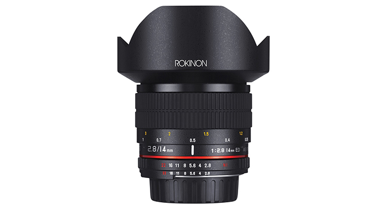 Rokinon 14mm f2.8 ED AS IF UMC Series