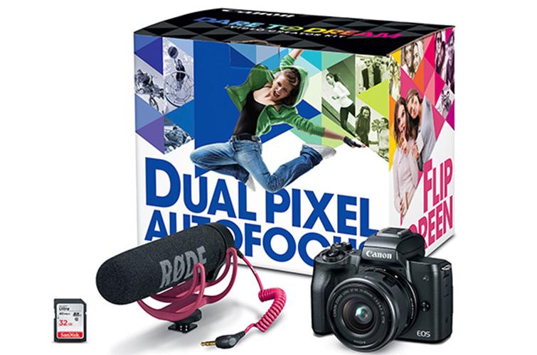 EOS M50 Video Creator Kit