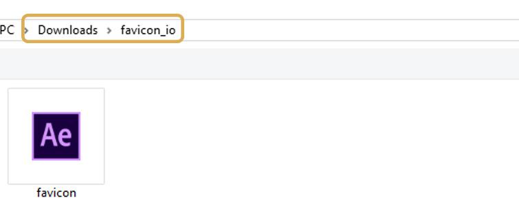 Select Icon Folder