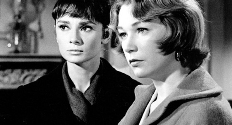 Audrey Hepburn and Shirley MacLaine in The Children's Hour