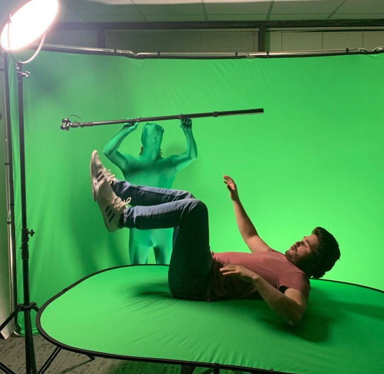 Incorporating a Green Screen