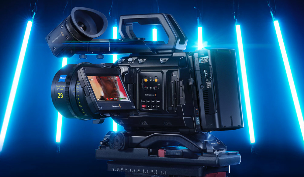 Blackmagic Announces the URSA Mini Pro 12K