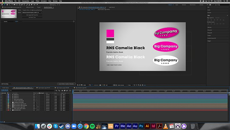After Effects Style Guide