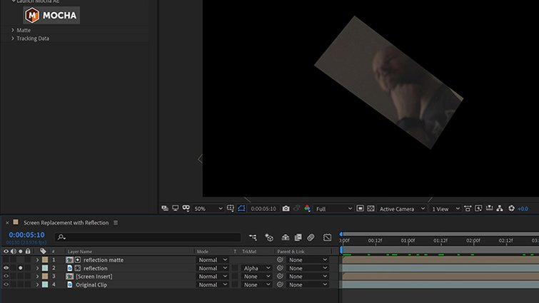 Isolate the Reflection in After Effects