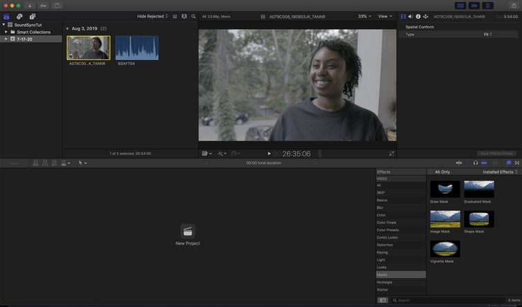 Final Cut Pro X: Import Audio and Video Files