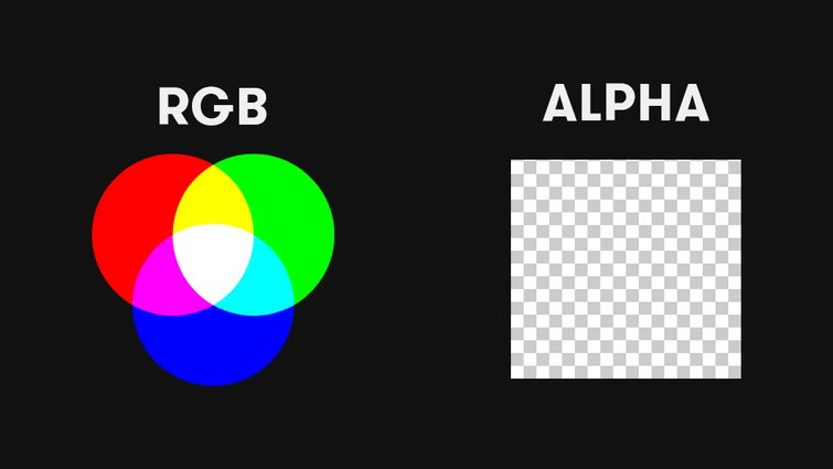 RGB + Alpha