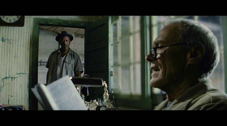 Split Diopter Example in the Movie Unforgiven
