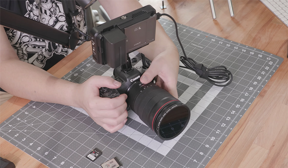Hack the Canon R5 for Nearly Unlimited 4K Recording