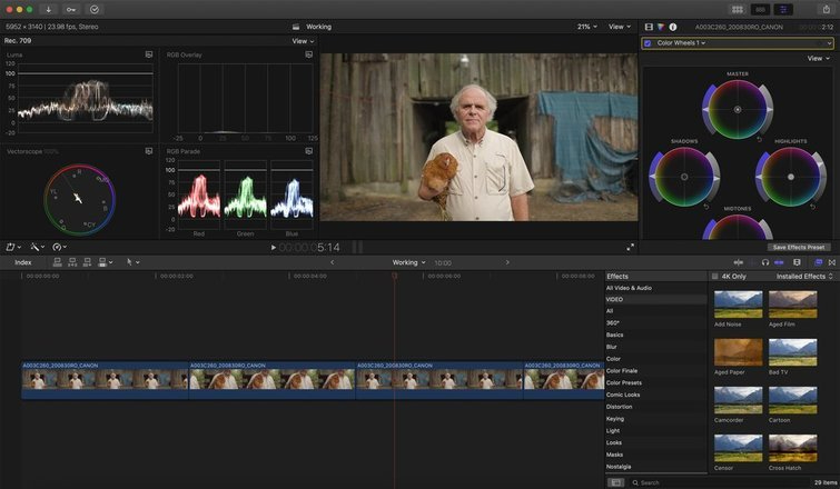 FCPX: Color Corrections