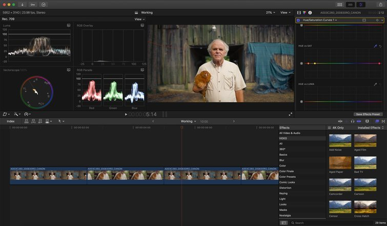 FCPX: Revisions