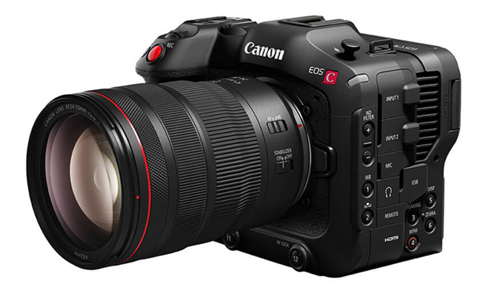 Canon Announces New EOS C70, Their First RF-Mount Cinema Camera
