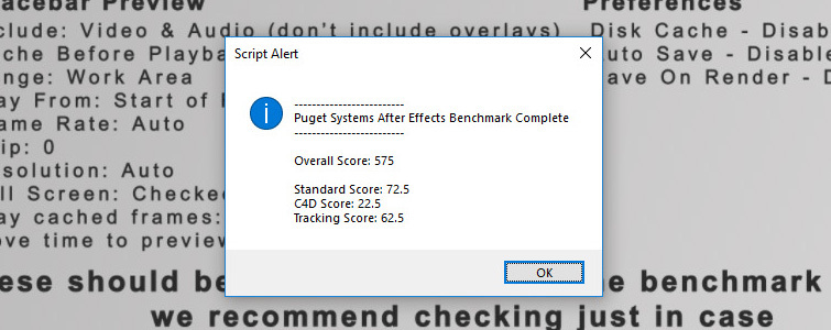 Video Editor Benchmark Tests: PugetBench Score