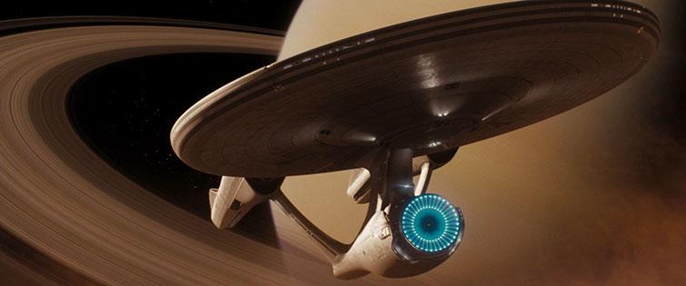 The Enterprise from the Kelvin Timeline.