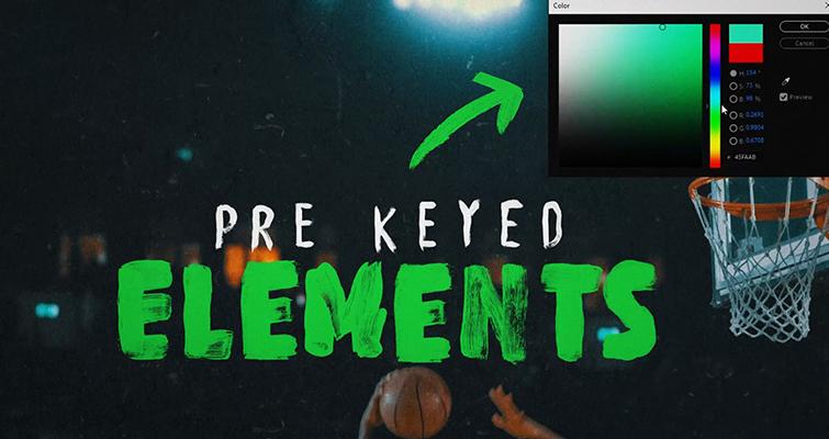 Pre-Keyed Elements