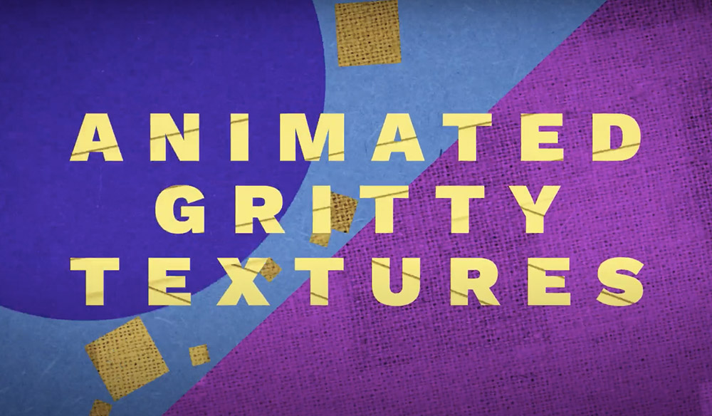 Download 18 FREE Animated Textures with a Gritty Style