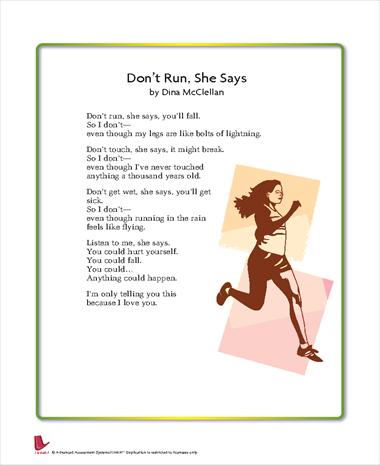 Don't Run, She Says