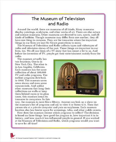 The Museum of Television and Radio