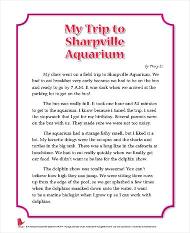 My Trip to Sharpville Aquarium