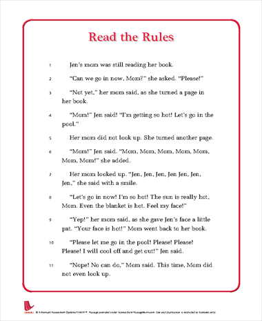 Read the Rules