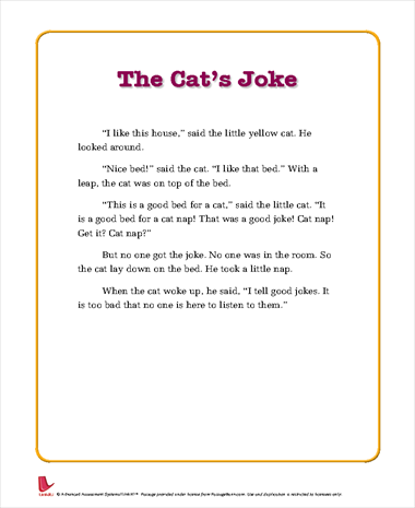 The Cat's Joke