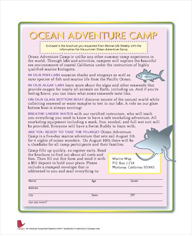 Ocean Adventure Camp
