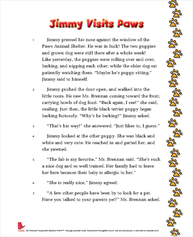 Jimmy Visits Paws