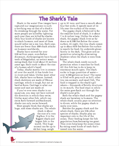 The Shark's Tale