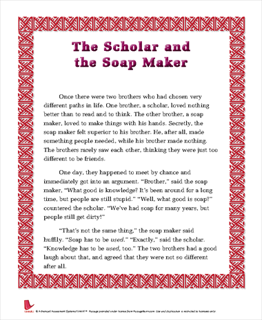 The Scholar and the Soap Maker