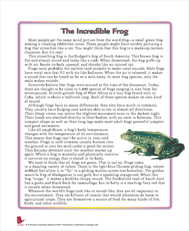 The Incredible Frog