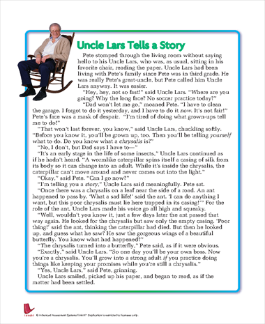 Uncle Lars Tells a Story