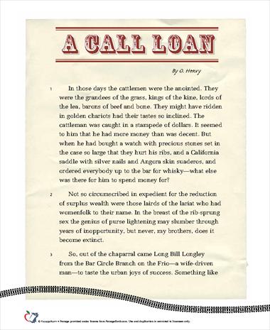A Call Loan
