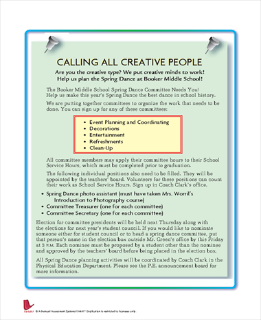 Calling All Creative People
