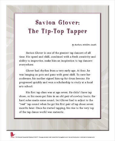 Savion Glover: The Tip-Top Tapper