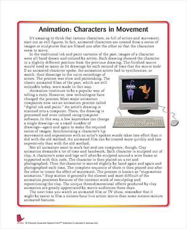 Animation: Characters in Movement