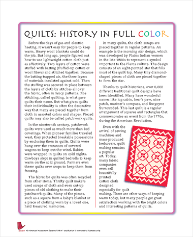 Quilts: History in Full Color