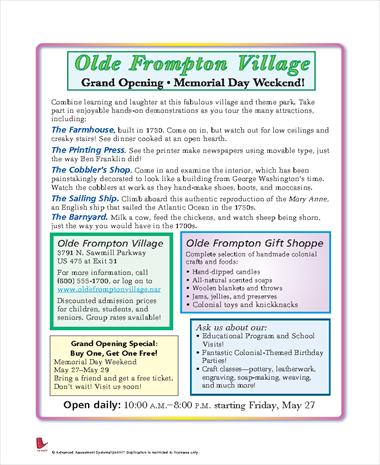 Olde Frompton Village