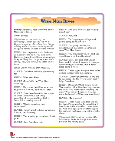 Wise Man River