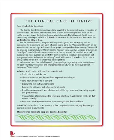 The Coastal Care Initiative