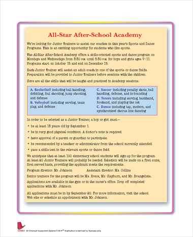 All-Star After-School Academy
