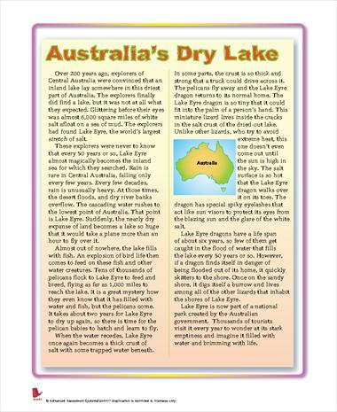 Australia's Dry Lake